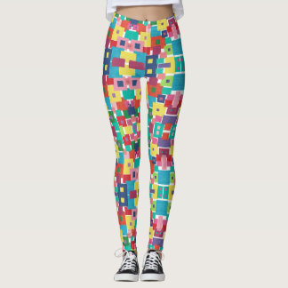 Beautiful Patternz by Vivid Colorz Leggings