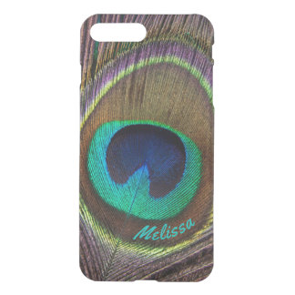 Beautiful Peacock Feather Eye, Your Name iPhone 7 Plus Case