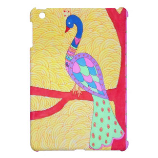 Beautiful Peacock iPad Mini Cover