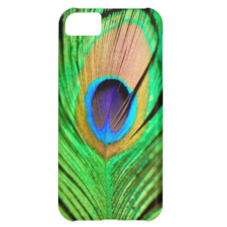 Beautiful Peapock Wing iPhone 5C Cases