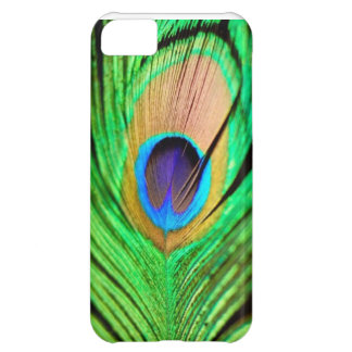 Beautiful Peapock Wing iPhone 5C Cover
