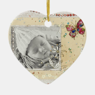 Beautiful Personalized Baby Christmas Ornament