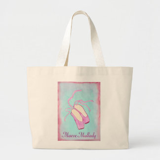 Beautiful Personalized Ballet Shoes Tote