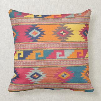 Beautiful Peruvian Textile Design Throw Pillows