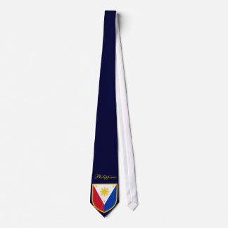 Beautiful Philippines Flag Tie