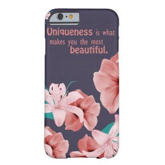 Beautiful phone case with awesome quotation.