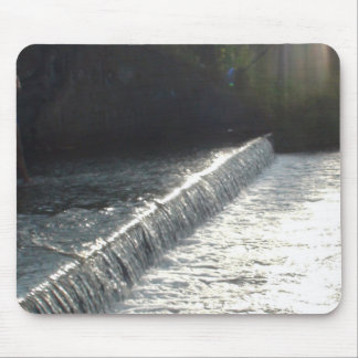 Beautiful Photo of a Waterfall in Wisconsin Mouse Pad