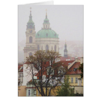 Beautiful Photo of Old Town Prague Card