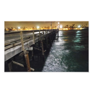 Beautiful Pier View Photo Print