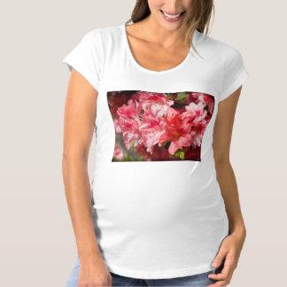 Beautiful Pink Azaleas Maternity T-Shirt