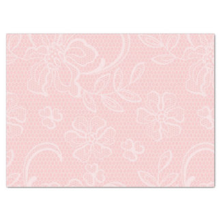 Beautiful Pink Baby Girl Pattern Tissue Paper