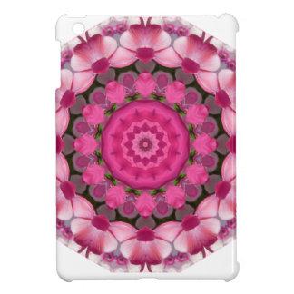 Beautiful pink Blossoms 001F 01, Nature Mandala iPad Mini Case