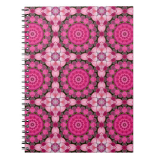 Beautiful pink Blossoms 001F.2, Nature Mandala Notebooks