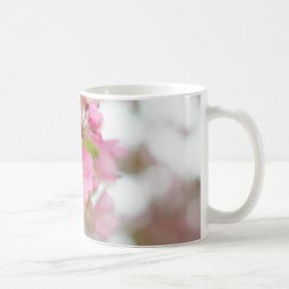 Beautiful Pink Crab Apple Blossom Coffee Mug