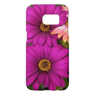 Beautiful Pink Daisies Samsung Galaxy S7 Case