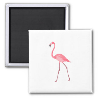 Beautiful Pink Flamingo Magnet