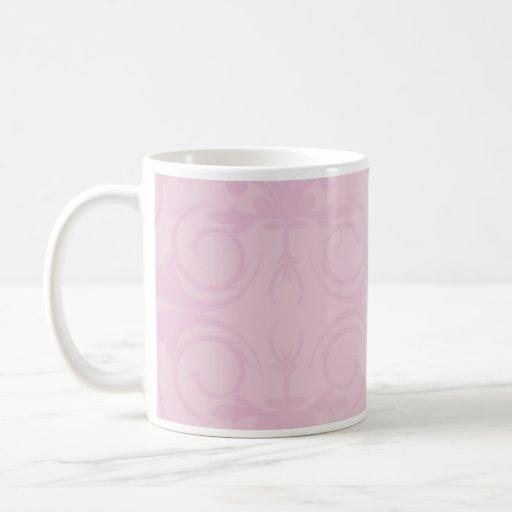 Beautiful Pink floral wedding gift Coffee Mugs