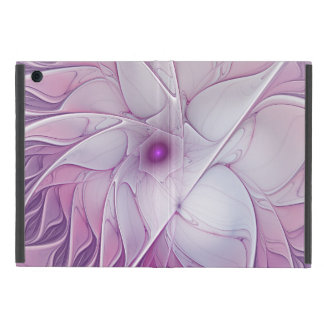 Beautiful Pink Flower Modern Abstract Fractal Art Cover For iPad Mini