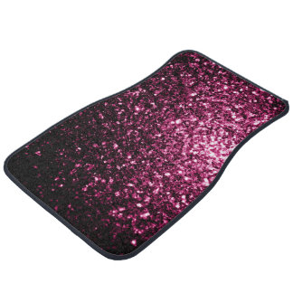 Beautiful Pink glitter sparkles Car Liners