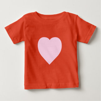 Beautiful Pink Heart Design Baby T-Shirt
