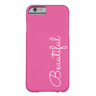 Beautiful Pink iPhone 6 Barely There Case Cover