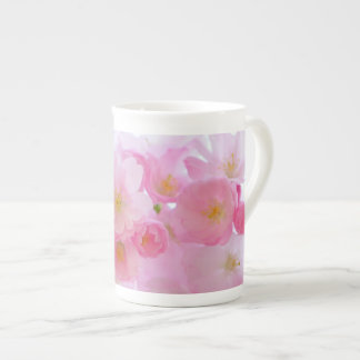 Beautiful Pink Japanese Cherry Blossom Tea Cup