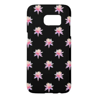 Beautiful Pink Lily Lotus Art Cool Trendy Unique Samsung Galaxy S7 Case