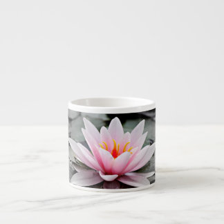 Beautiful Pink Lotus Flower Waterlily Zen Art Espresso Cup