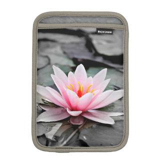 Beautiful Pink Lotus Flower Waterlily Zen Art iPad Mini Sleeve