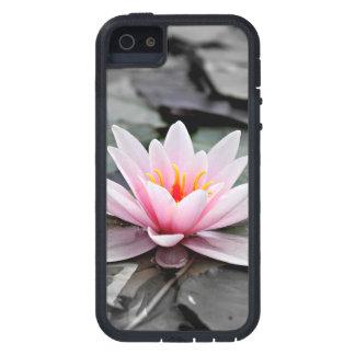 Beautiful Pink Lotus Flower Waterlily Zen Art iPhone 5 Cases
