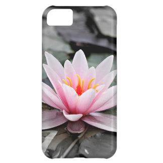 Beautiful Pink Lotus Flower Waterlily Zen Art iPhone 5C Covers