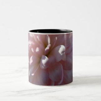 Beautiful Pink Mum Two-Tone Coffee Mug