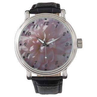 Beautiful Pink Mum Watch