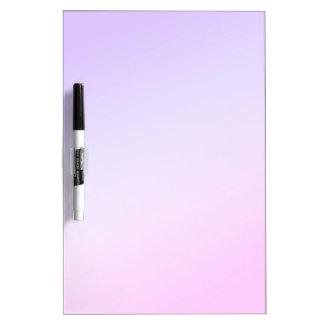 Beautiful Pink & Purple Dry Erase Board