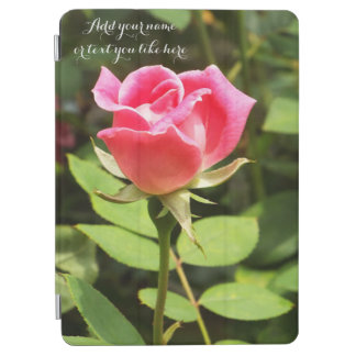Beautiful pink rose iPad pro case