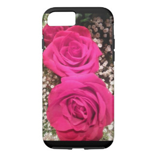 Beautiful pink roses iPhone 8/7 case