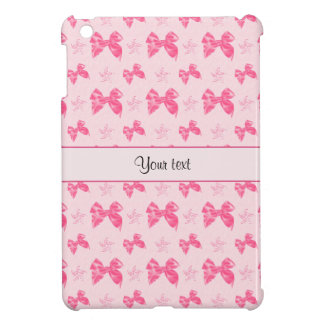 Beautiful Pink Satin Bows iPad Mini Cover