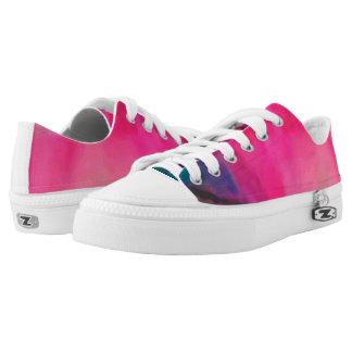Beautiful PinkTie Dye Design Shoes ©2016CTomlinson