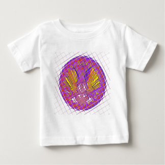 Beautiful Plum Amazing Colorful Pattern Design. Baby T-Shirt