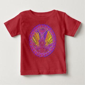 Beautiful Plum Amazing Colorful Pattern Design. Baby T-Shirt