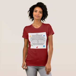 Beautiful  poetry themed shirts for females ,girls