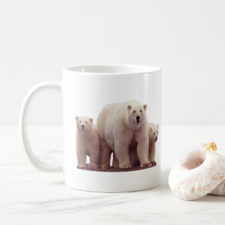 Beautiful Polar Bears Arctic Wildlife Coffee Mug