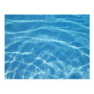 Beautiful Pool Water Postcard