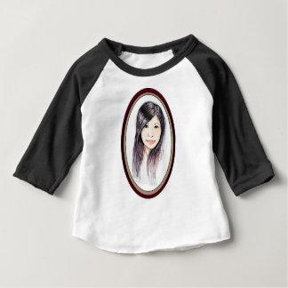 Beautiful Portrait of an Asian Woman Baby T-Shirt