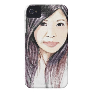 Beautiful Portrait of an Asian Woman Case-Mate iPhone 4 Case