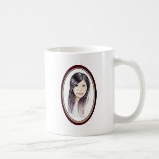 Beautiful Portrait of an Asian Woman Coffee Mug