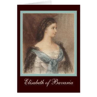 Beautiful Portrait of Empress Elisabeth - Sisi Card