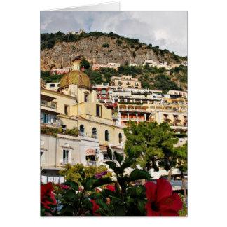 Beautiful Positano, Italy Card
