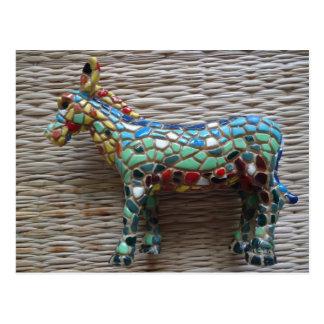 """Beautiful postcard """"donkey """""""
