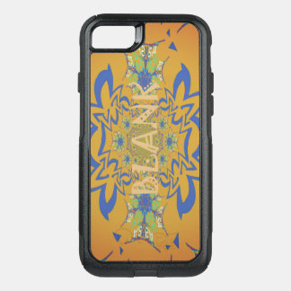 Beautiful Pretty Unique Blank Floral Text Design OtterBox Commuter iPhone 7 Case